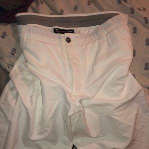 "Under armour Men's White Golf Pants 38'30"""